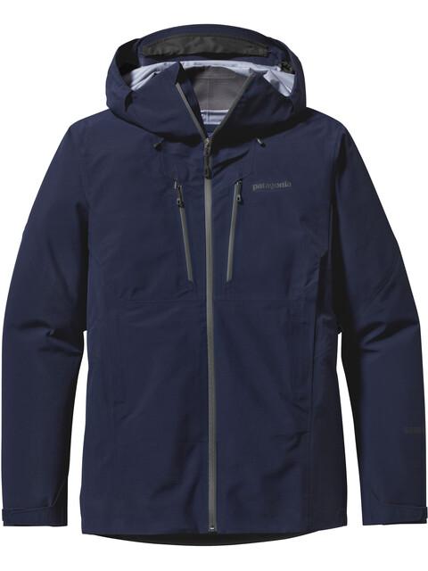 Patagonia Triolet Jacket Men Navy Blue w/Forge Grey